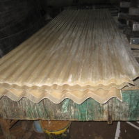 Fiberglass corrugated sky light roofing sheets
