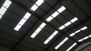 sky light ribbed sheet