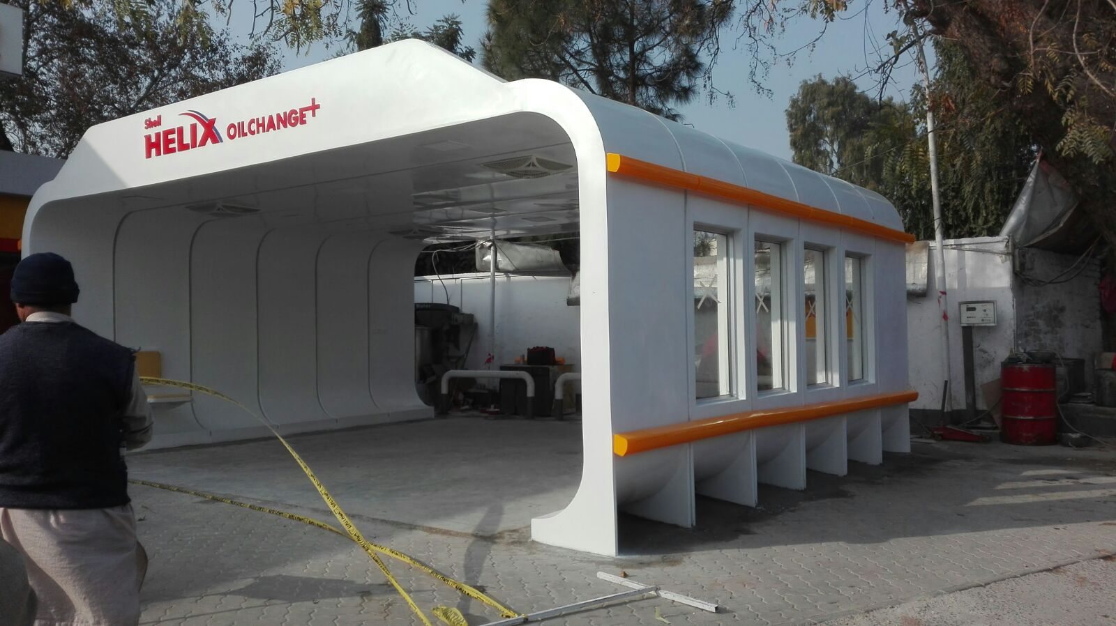 Fiberglass_fiberglass-canopy_Double-bay-canopy_oil-change-canopy_canopy-forr-shell-sation
