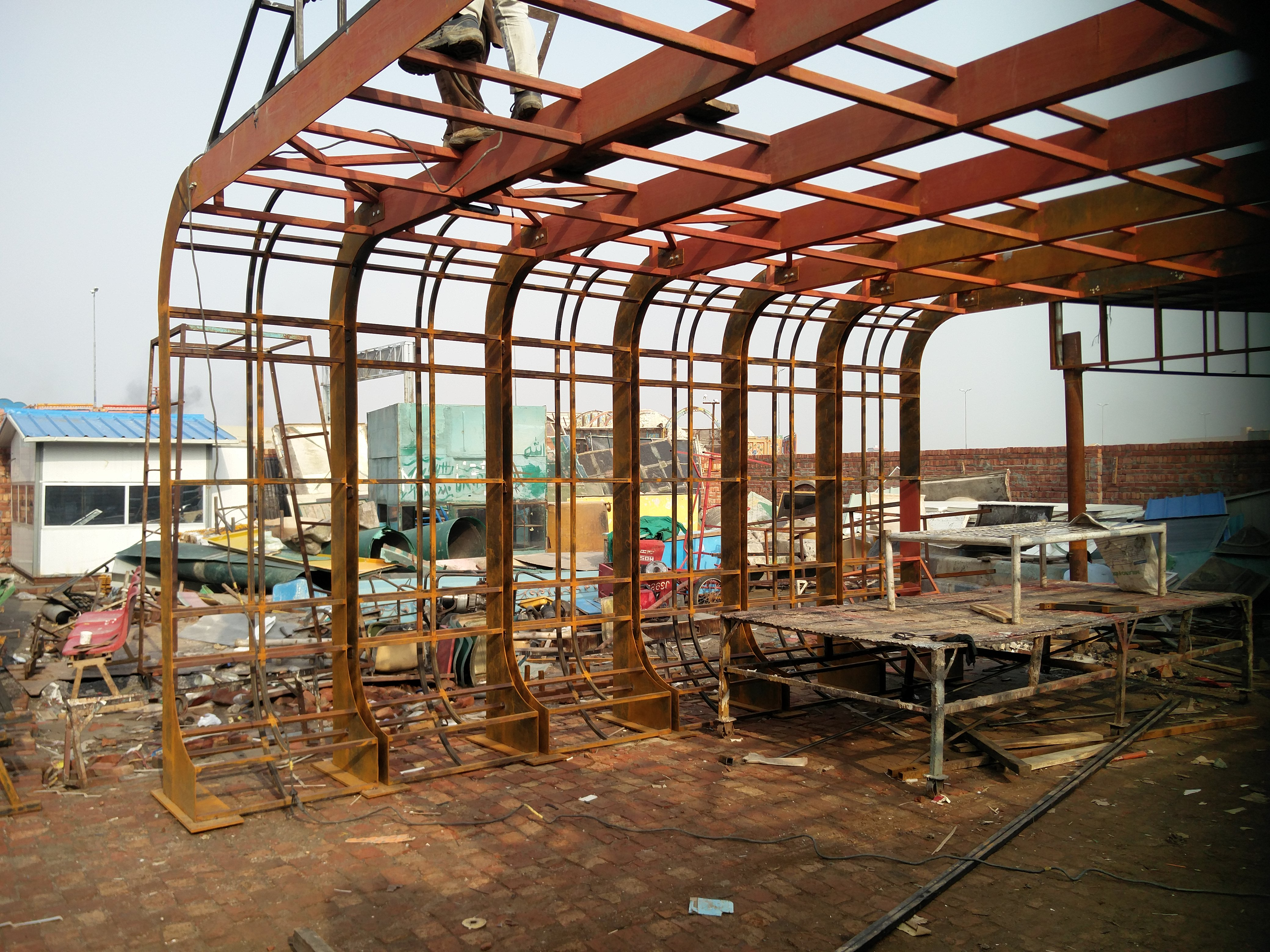 Steel-structure_steel-fabrication